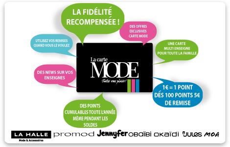 Image accueil La Carte Mode
