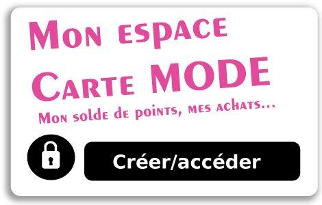 Espace membre La Carte Mode